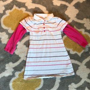 Long-sleeved dress, 2T
